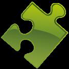 puzzlestuk-groen