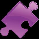 puzzlestuk-purper
