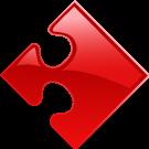 puzzlestuk-rood